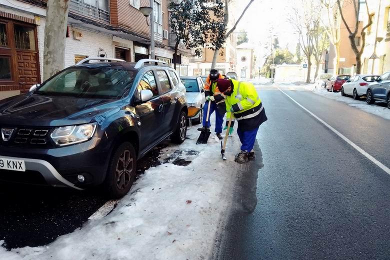 Aguas de Alcalá ha atendido cerca de 3.000 avisos y ha sustituido más de 800 contadores como consecuencia del paso del temporal Filomena por la ciudad complutense