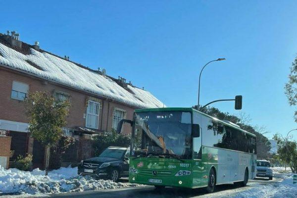 alcala de henares restablecido servicio autobus
