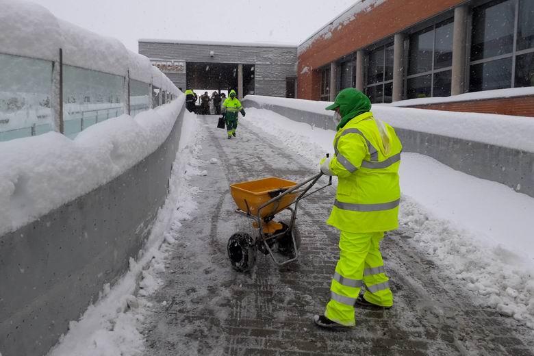 La Comunidad de Madrid inicia la segunda fase de la vuelta a la normalidad tras el temporal de nieve y frío