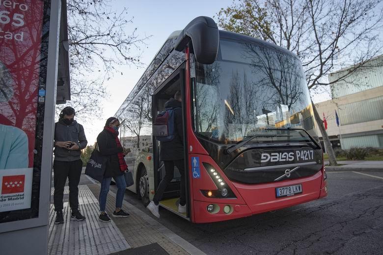 Arriva prueba por primera vez un autobús 100% eléctrico en una línea urbana de Alcorcón