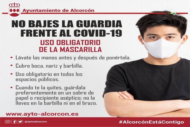 Alcorcón intensifica las acciones para frenar al COVID en la ciudad y para dar cobertura social a los vecinos