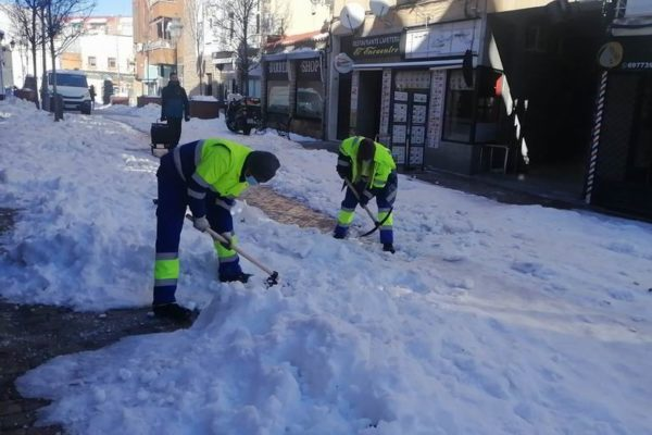 fuenlabrada limpieza nieve hielo 2