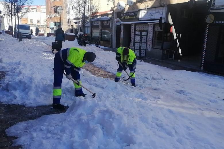 Fuenlabrada habilitará hasta 3 millones de euros de presupuesto para ayudas por los daños ocasionados por la borrasca Filomena