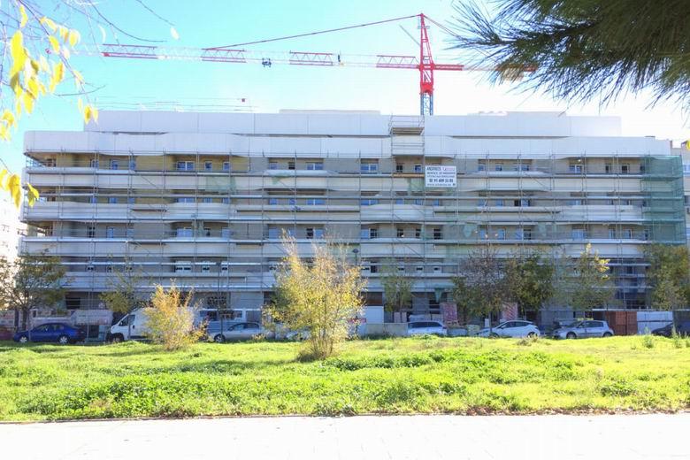 Getafe abre el plazo para optar a las viviendas vacantes de la promoción que construye la EMSV en El Rosón