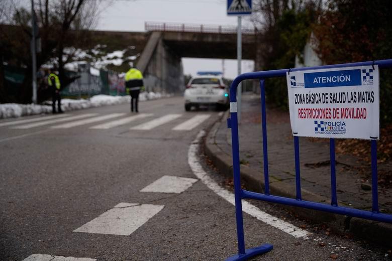 La Policía Local de Las Rozas refuerza la vigilancia en el municipio ante la subida de contagios por COVID