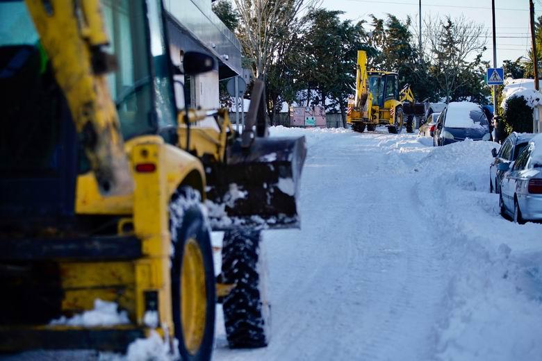 Las Rozas pone en marcha un equipo de evaluación y reparación de daños en colegios tras la nevada