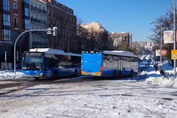 madrid autobus emt lineas en funcionamiento jueves