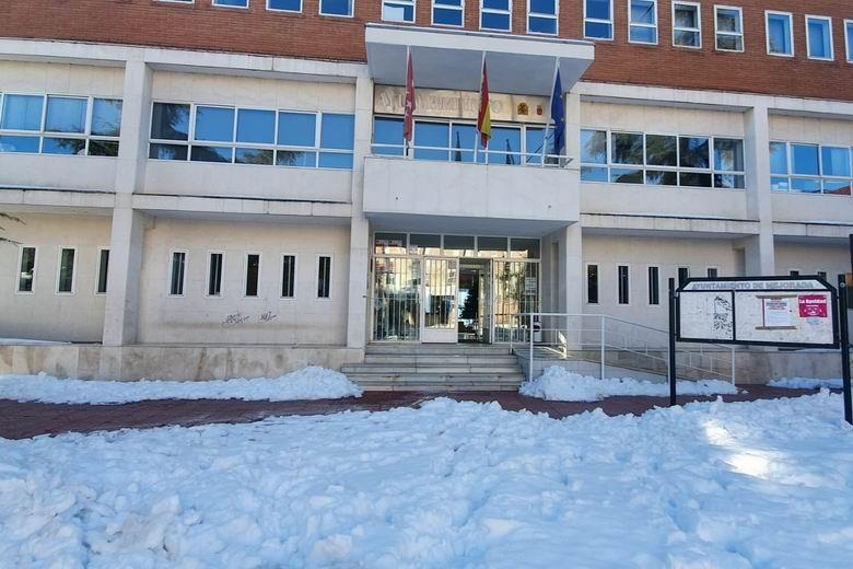 Mejorada del Campo solicita la declaración de zona catastrófica y ayudas especiales para el municipio tras la nevada