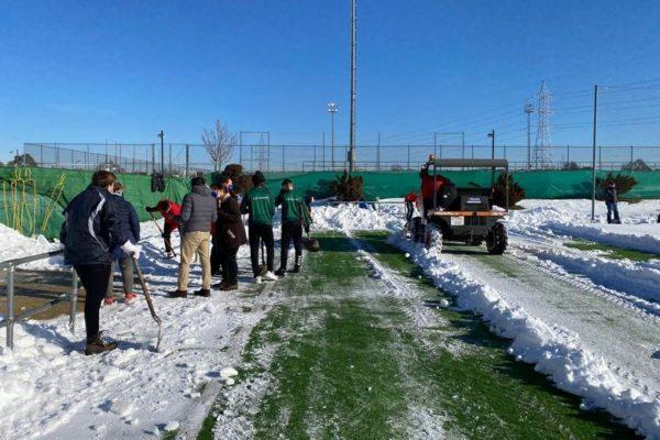 pozuelo clubes deportivos nieve limpieza