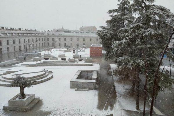 san fernando de henares nieve inclemencias metereologicas Temporal Filomena