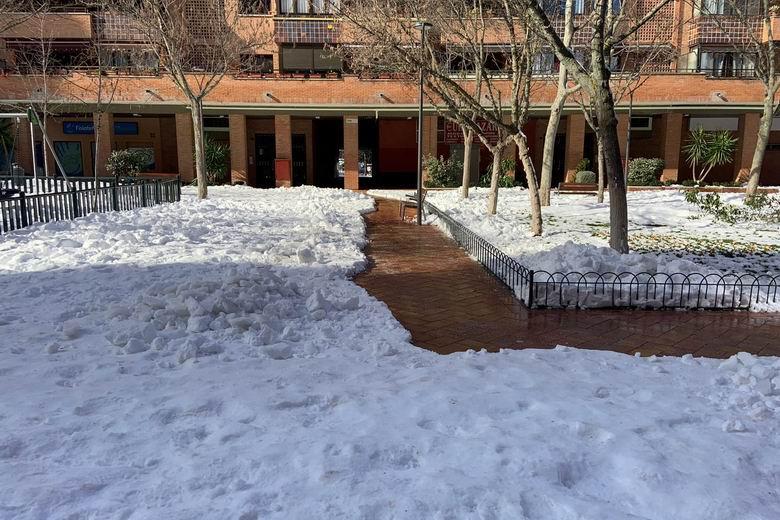 El 98% de las calles de Tres Cantos se encuentran despejadas de nieve
