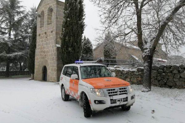 valdemorillo mayores alimentos medicinas proteccion civil nieve hielo