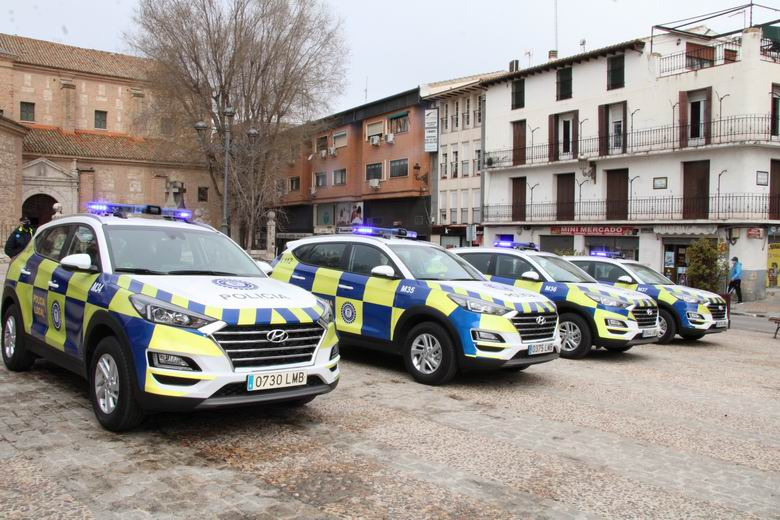 La Policía Local de Arganda del Rey cuenta con cuatro nuevos vehículos tipo SUV