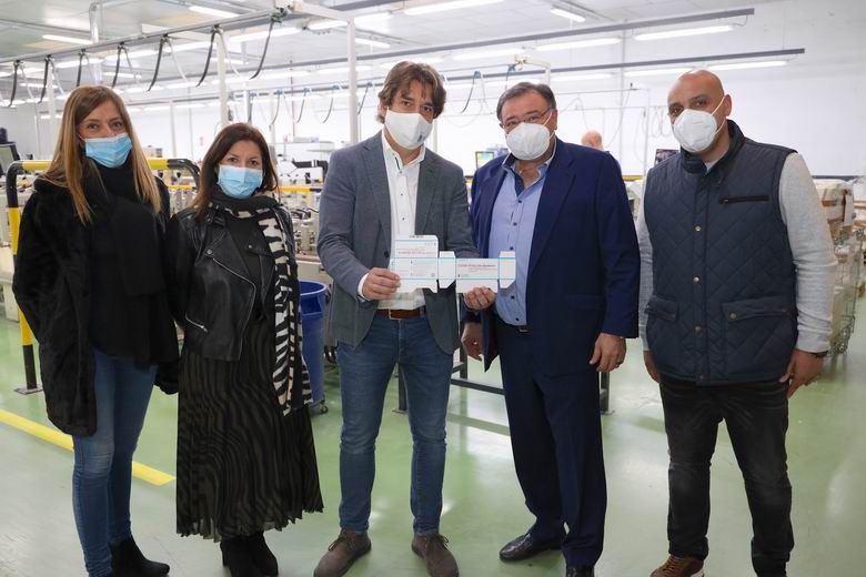 La empresa de Fuenlabrada Manufacturas Marber, encargada de fabricar las cajas para las vacunas de la COVID-19