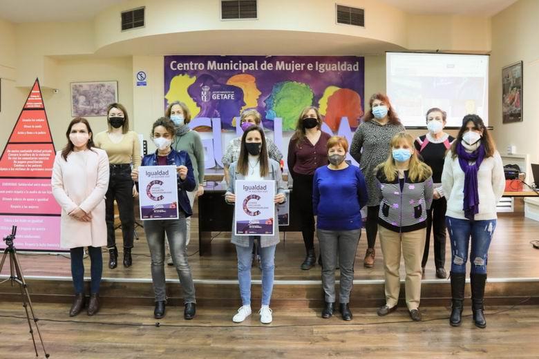 Getafe presenta su programación para conmemorar el 8 de marzo, el Día Internacional de las Mujeres