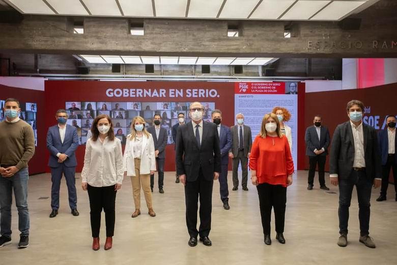 Los alcaldes y alcaldesas socialistas de la región firman un manifiesto de apoyo a la candidatura de Ángel Gabilondo para la Presidencia de la Comunidad de Madrid