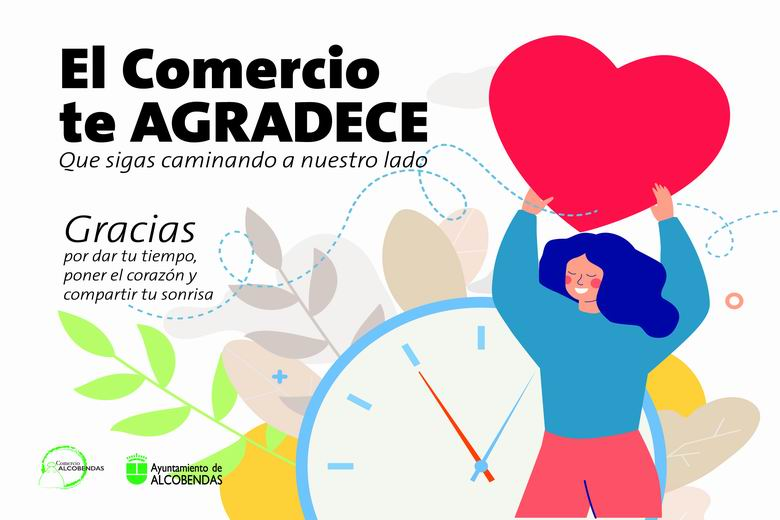 Alcobendas lanza  la campaña 'El comercio te agradece'