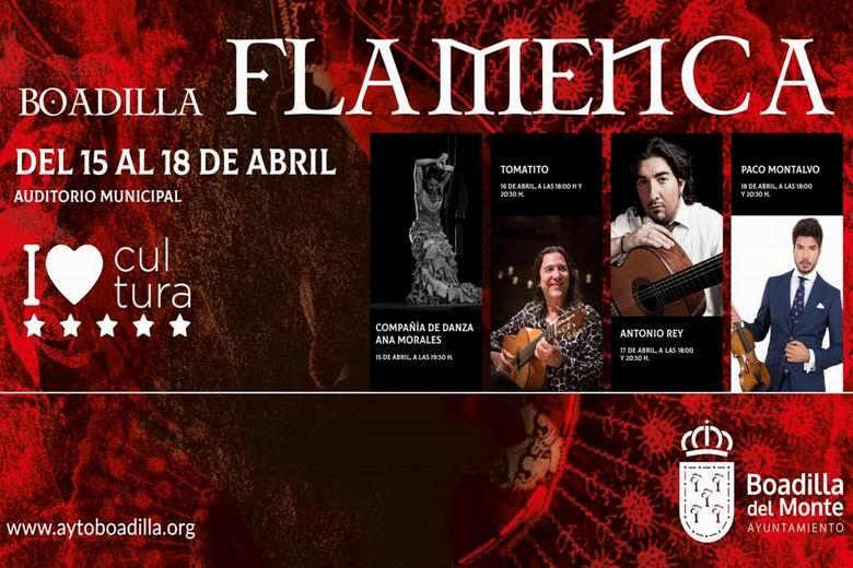 El II Festival de Flamenco de Boadilla reúne a primeras figuras del panorama musical español