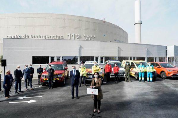 diaz ayuso nuevo edificio emergencias 112 summa