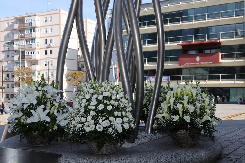 Fuenlabrada rinde homenaje a las víctimas del 11-M