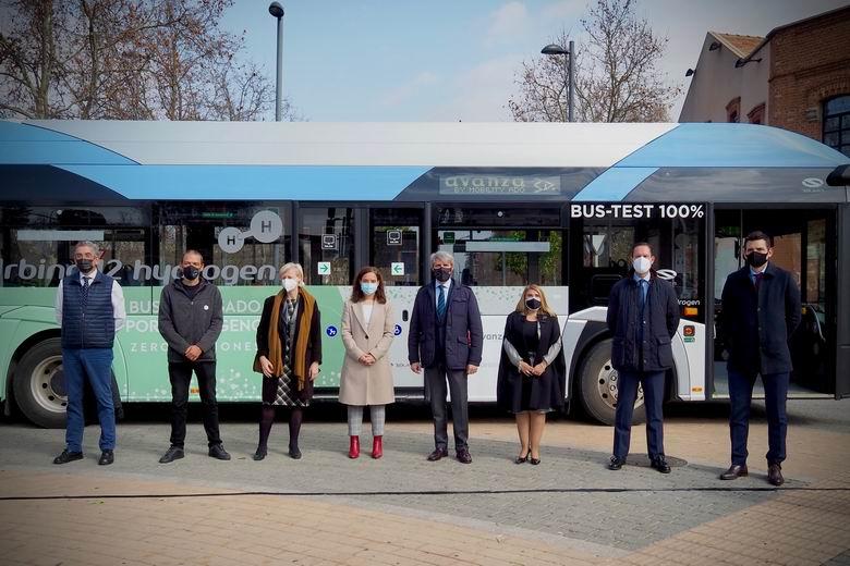 La Comunidad de Madrid prueba por primera vez un autobús de hidrógeno en líneas de Getafe, Pozuelo, Majadahonda y Las Rozas