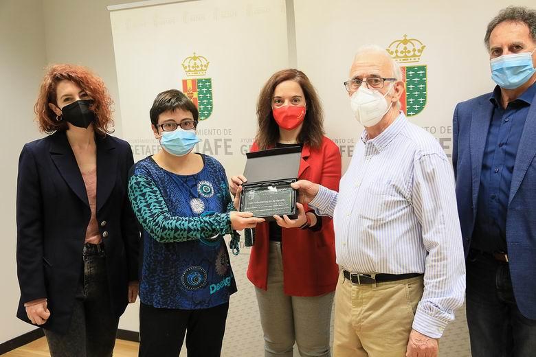Getafe muestra su reconocimiento al Voluntariado de la ciudad por su gran esfuerzo durante la pandemia