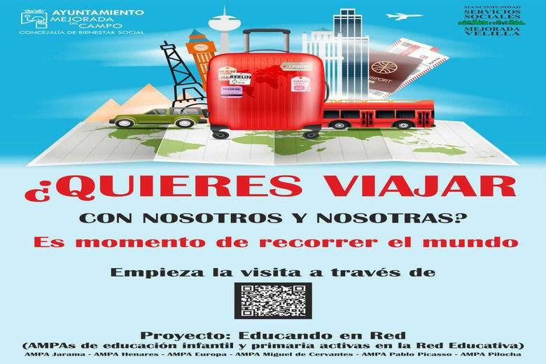 El Ayuntamiento de Mejorada del Campo propone viajes interactivos para las familias