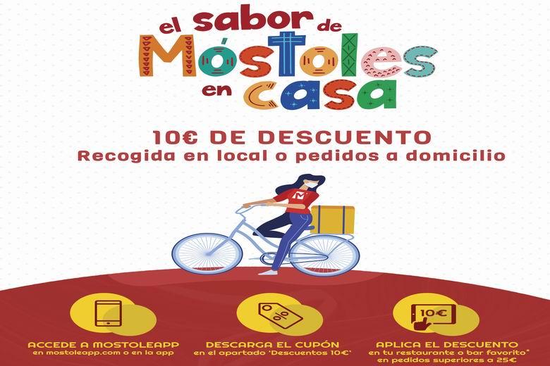 """La campaña """"El sabor de Móstoles en casa"""" deja 40.000 euros en la hostelería del municipio"""