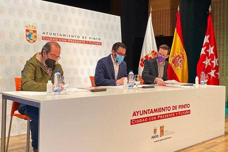 Pinto remodela su Gobierno Municipal para afrontar de manera progresista los nuevos retos de la ciudad