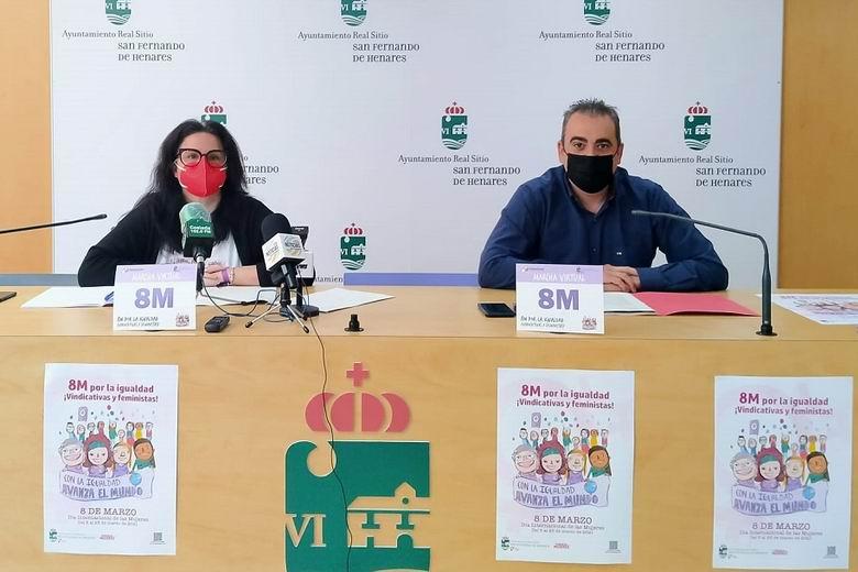San Fernando de Henares conmemora el Día Internacional de las Mujeres con una innovadora 'Marcha Virtual'