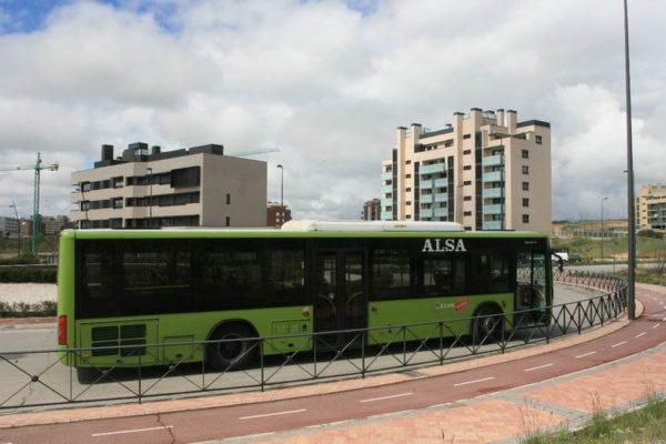 tres cantos modificacion lineas autobus obras nudo norte