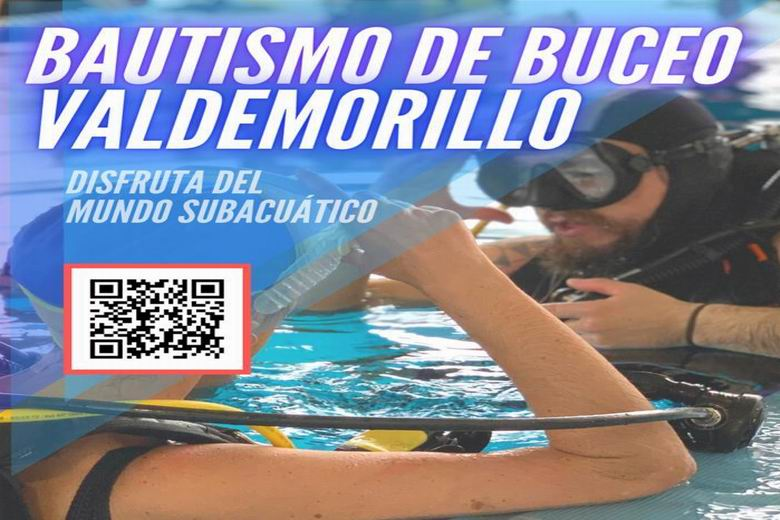 Bautismo de buceo este domingo 28 de marzo para los vecinos de Valdemorillo mayores de 8 años