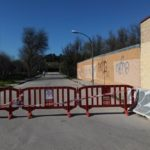 valdemoro cerrado acceso parque bolitas del airon 03