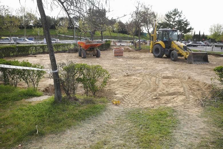 El área canina y la zona infantil del parque Gregorio Marañón de Boadilla cerrarán los próximos tres meses por actuaciones de mejora