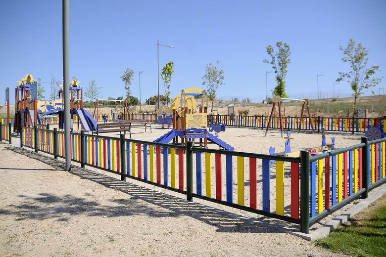 Boadilla recepciona el parque de Los Descubridores, en la zona de Valenoso