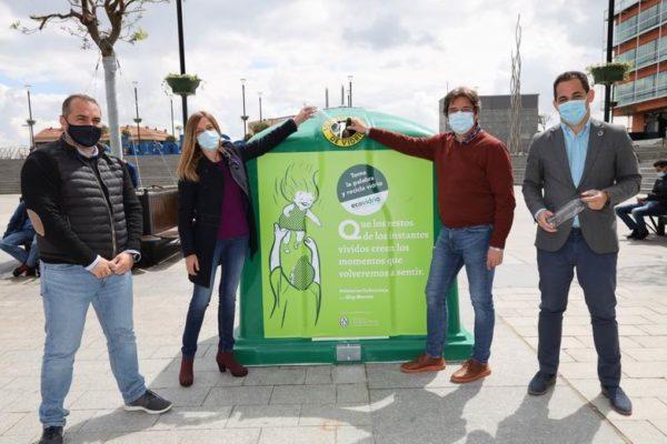 fuenlabrada reciclaje ecovidrio dia del libro