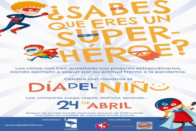 Las Rozas organiza una gran fiesta dedicada a los niños para reconocer su comportamiento ejemplar durante la pandemia