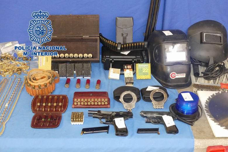 La Policía Nacional desarticula en Torrejón y Madrid a un grupo criminal dedicado al robo con fuerza en oficinas de empresas