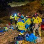 alcorcon madrid m40 a5 accidente salida via 02