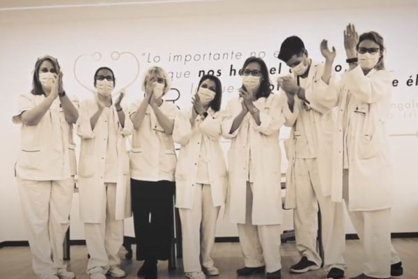 hospital la princesa homenaje enfermeras