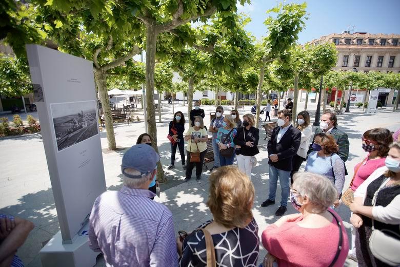 Ya se puede disfrutar de la exposición 'Paseo por Las Rozas', un viaje al pasado del municipio a través de fotografías