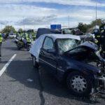 majadahonda accidente m50 dos muertos choque frontal 01