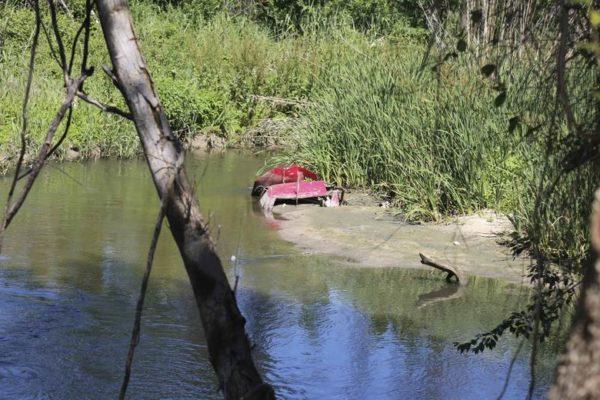 mostoles limpieza rio guadarrama