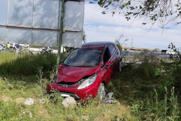 parla accidente m408 mujer herida