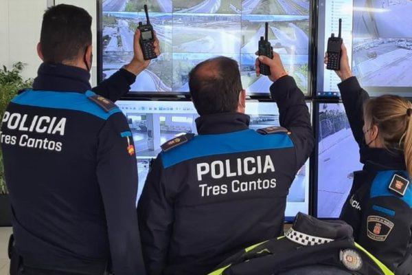 tres cantos policia refuerzo vigilancia fin estado alarma