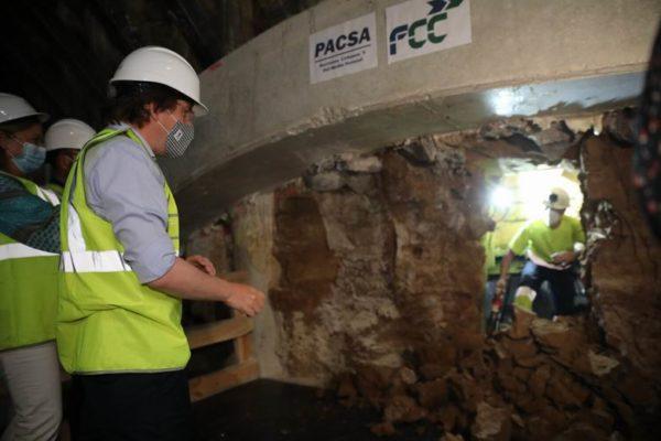 tunel bailen ferraz plaza de españa