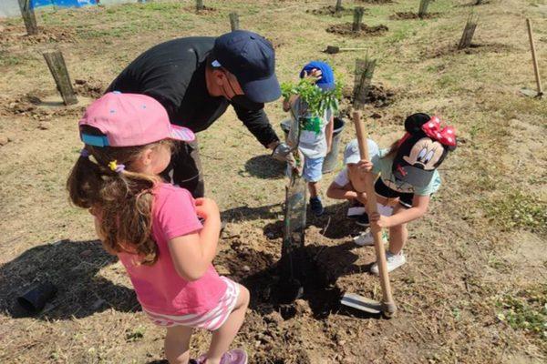 leganes plantacion niños