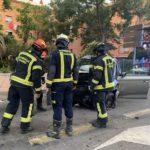 vallecas accidente avenida entrevias siete heridos 4 coches implicados 04